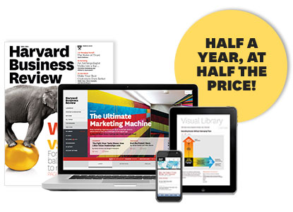 Website and Products - HBR - Harvard Business Review
