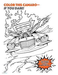 Color this Camaro - If you Dare!