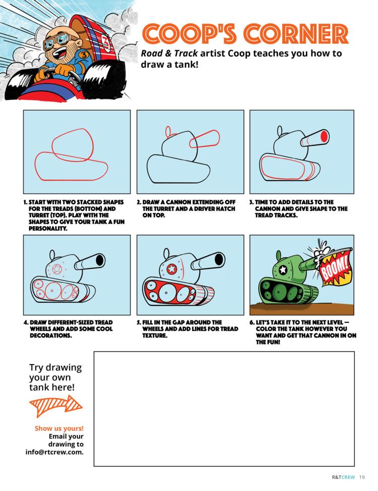 Coop's Corner - Draw A Tank