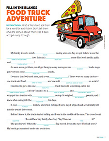 Fill in the Blanks: Food Truck Adventure