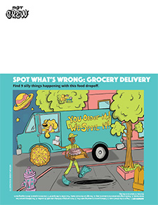 Spot What's Wrong: Grocery Delivery