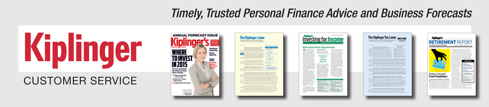KIPLINGER'S PERSONAL FINANCE Customer Care