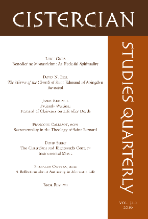 Cistercian Studies Quarterly