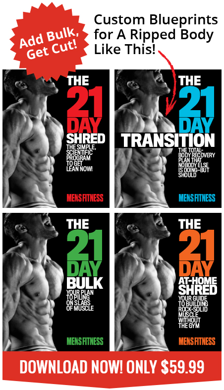 ce7d125f The 21-Day Shred - 4 Step Program